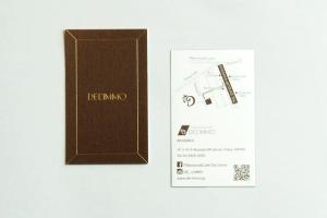 ショップカード ショップツール デザイン 包装紙