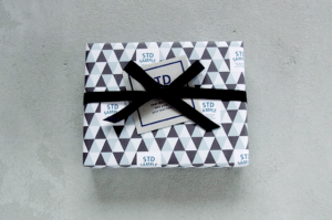 包装紙 名入れ ショップツール デザイン