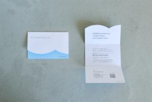 ショップカード デザイン ショップツール セミオーダー 名入れ おしゃれ