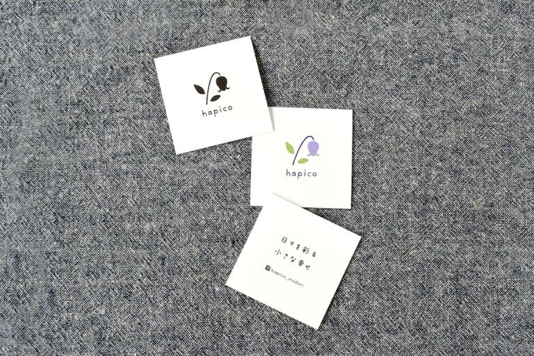 ロゴデザイン ショップカードデザイン