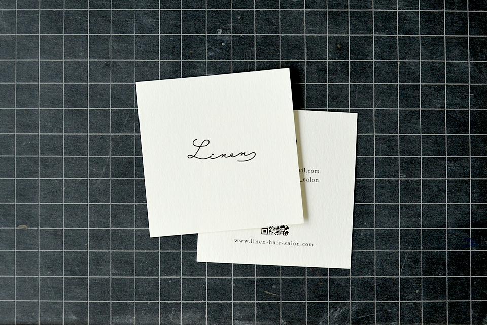 ショップカード 名刺 デザイン 正方形