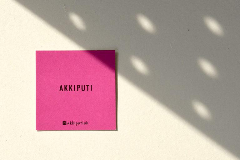 名刺 ショップカード デザイン シンプル