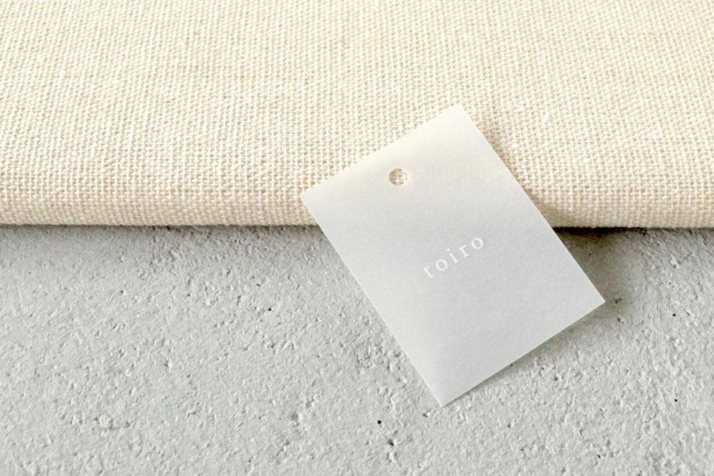 シンプルな商品タグのデザイン