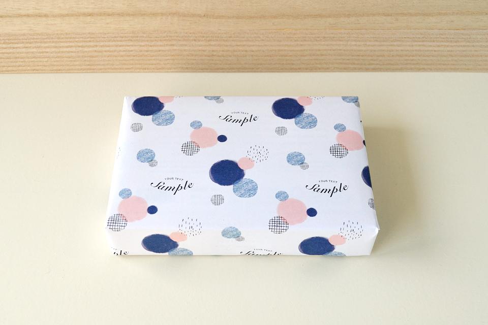 包装紙 ラッピングペーパー デザイン